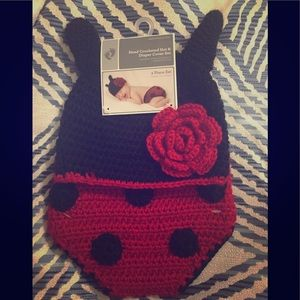 Other - Ladybug Newborn Picture Outfit